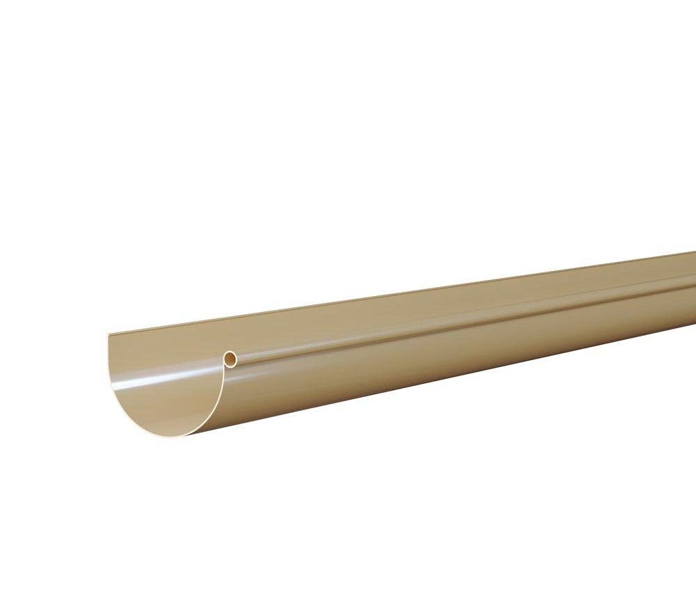 Gouttière demi ronde de 25cm - Longueur 4m - Sable