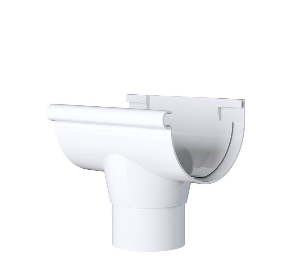 Naissance Centrale à coller - Demi ronde 33cm - Blanc