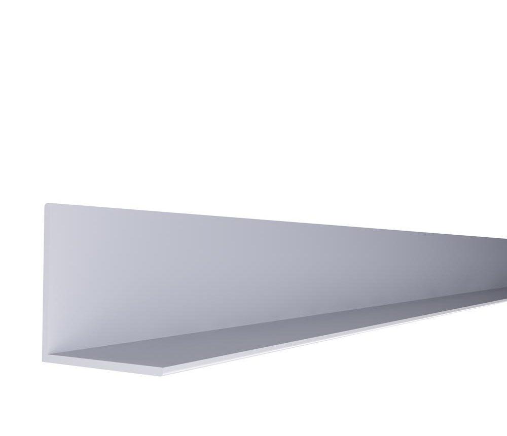 Cornière 40 x 40mm blanc
