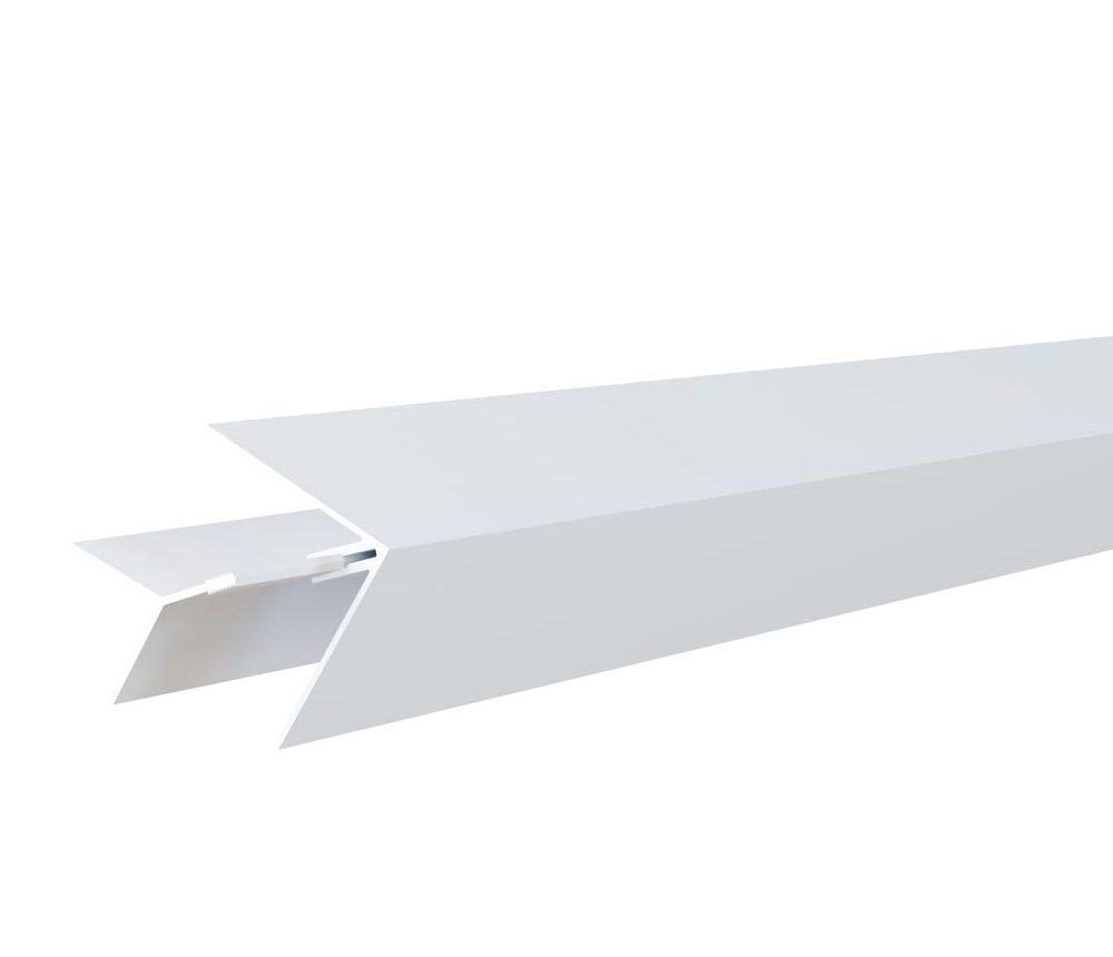 Angle intérieur 2 parties en blanc