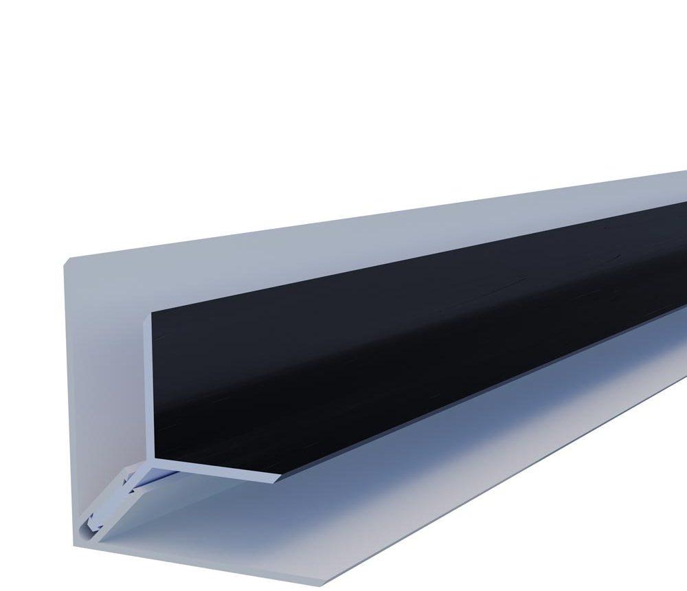 Angle intérieur Premium 2 parties en couleur Zinc Anthracite