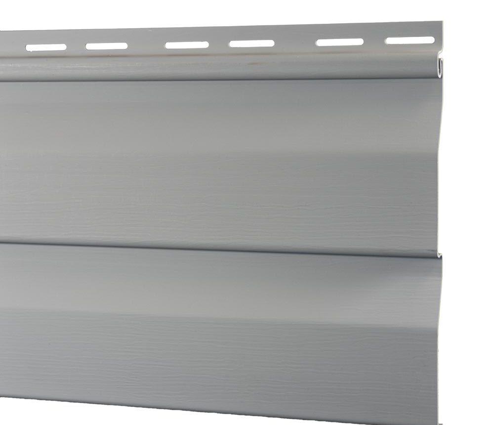Bardage Vinyle en gris clair