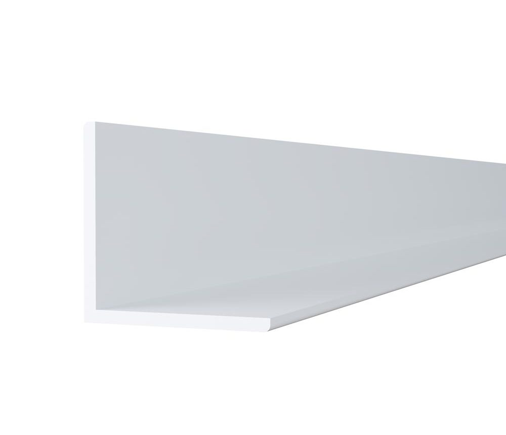 Cornière 30 x 30mm blanche