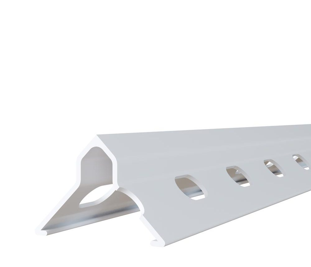 Protège angle pour cloisons de plâtre en PVC