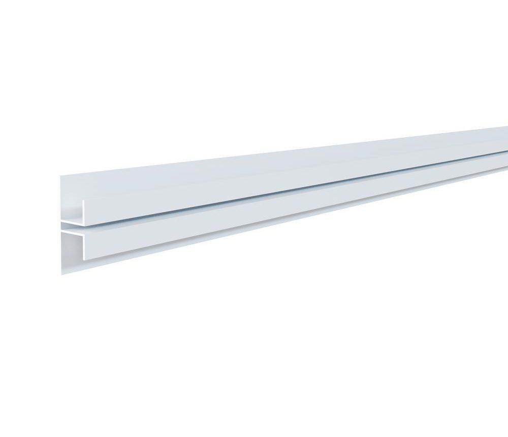 Raccord vertical 75 x 21,50mm blanc