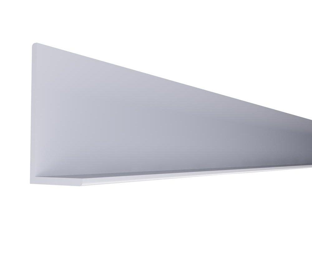 Cornière 50 x 50mm en couleur blanc