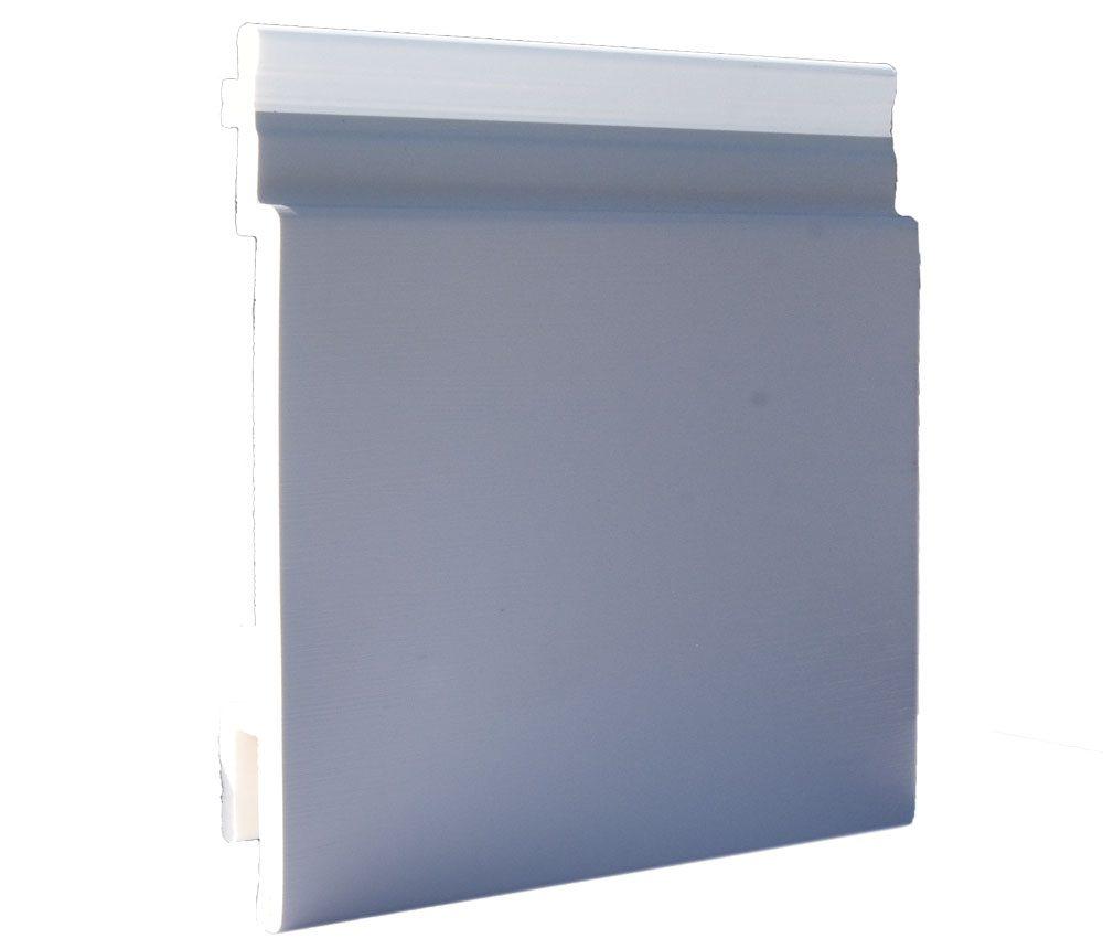 Lame de bardage PVC Isocel premium en couleur gris foncé