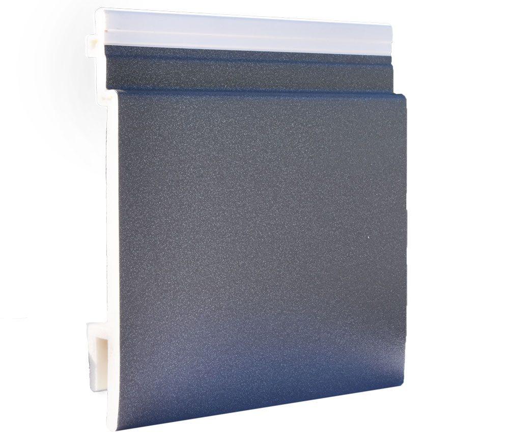 Lame de bardage PVC Isocel premium en couleur métal gris