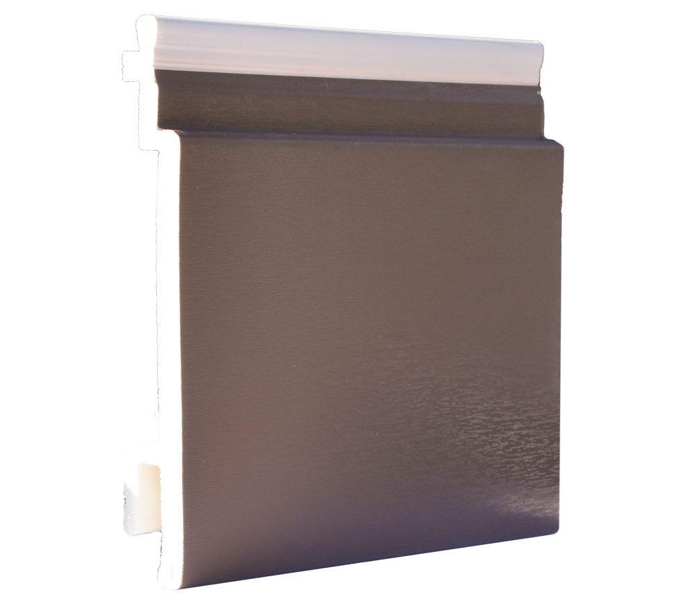Lame de bardage PVC Isocel premium en couleur moka