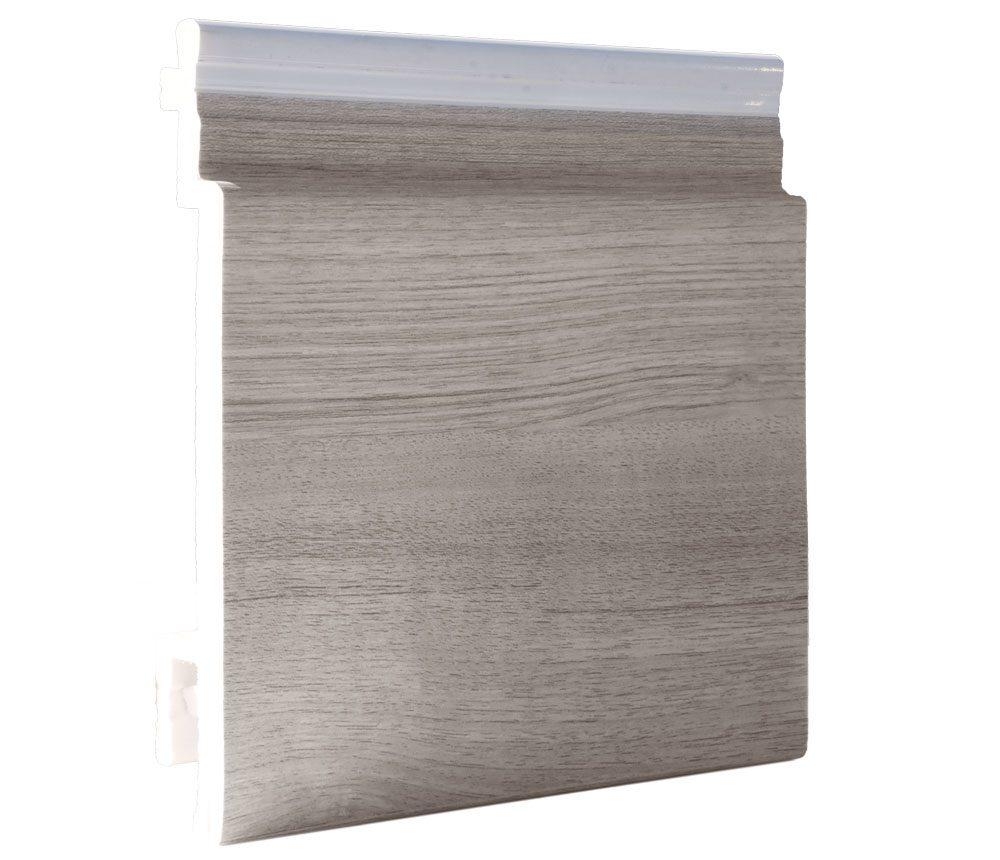 Lame de bardage PVC Isocel premium + en couleur chêne blanchi