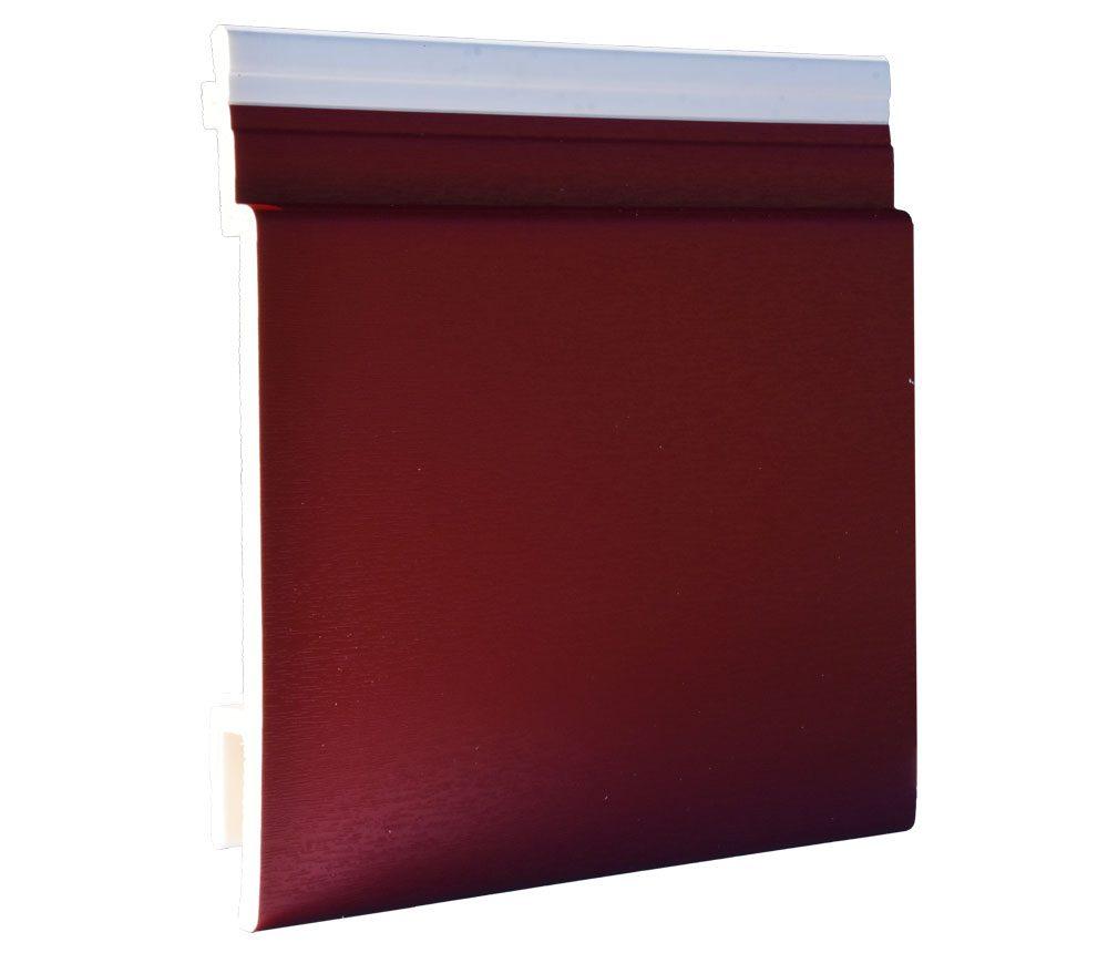 Lame de bardage PVC Isocel premium en rouge basque