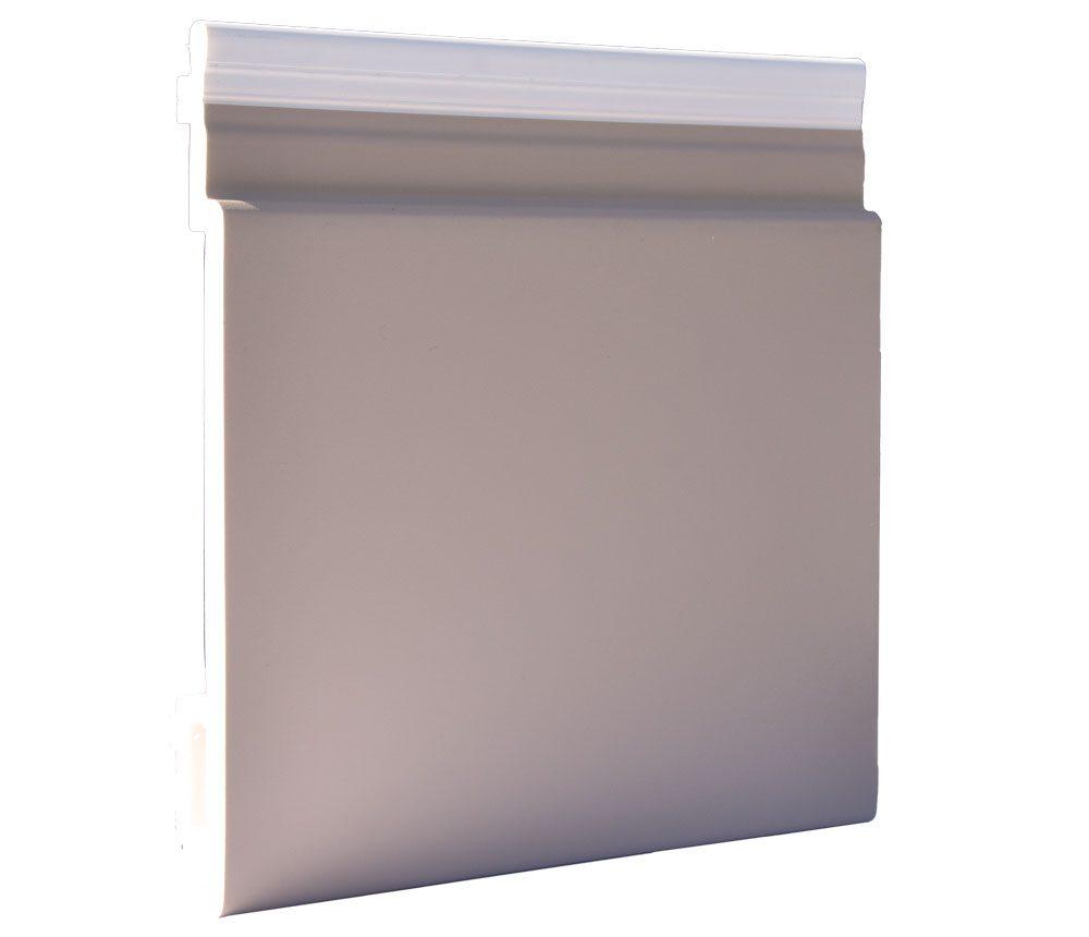 Lame de bardage PVC Isocel premium en couleur taupe