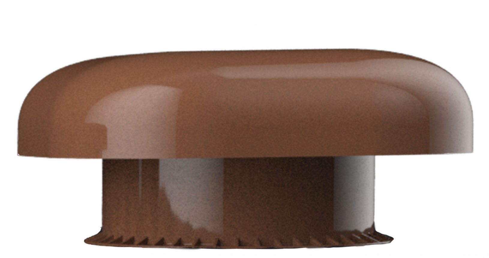 Chapeau de ventilation en marron